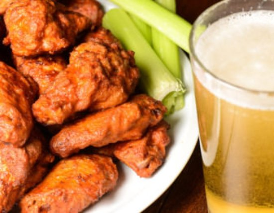 Avalon Resort: Friday Night Wings can be ordered fresh from the Nudsino
