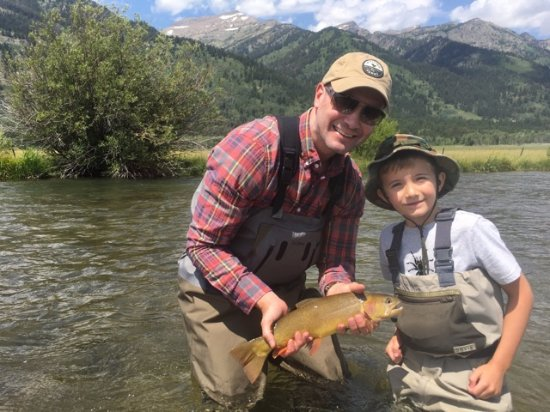 Jackson Hole, WY: Great day fly fishing!