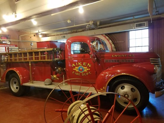Aiken, SC: 1943 Fire Engine