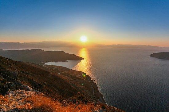 Kreeta, Kreikka: Sunset near Chania