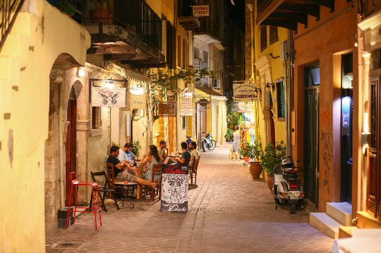 Creta, Grecia: Chania oldtown