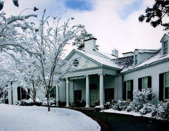 A rare snow fall in Aiken