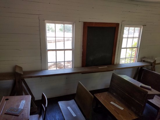 Aiken, Carolina del Sur: Schoolhouse interior