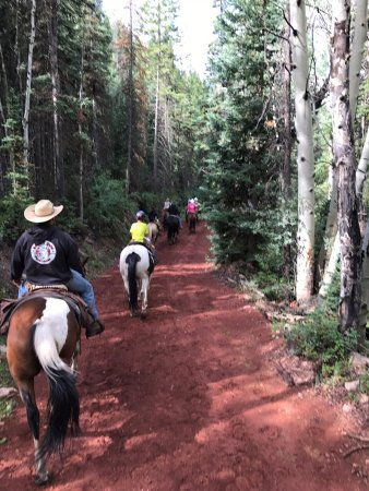 Mc Coy, CO: Back to the ranch after exploring the 1,000+ acres