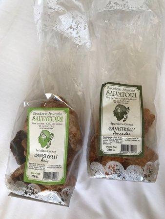 Ile Rousse, Γαλλία: Biscuiterie salvatori
