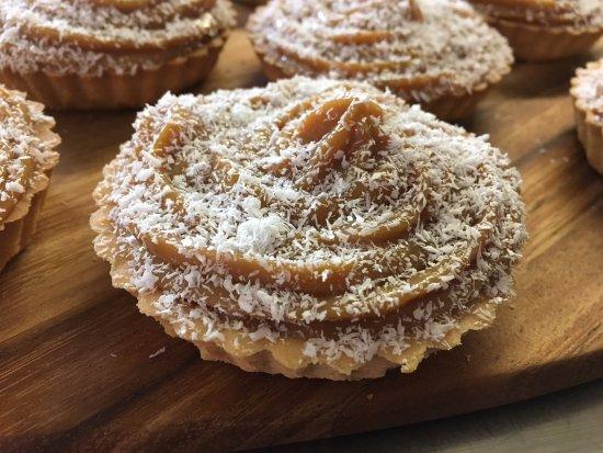 Maghera, UK: Handmade in store banoffee pies!