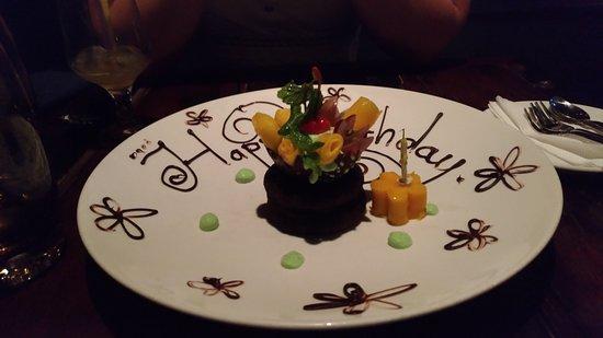 The Gourmet Corner Restaurant Thanks For Birthday Present
