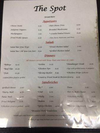Savannah, TN: The Spot Restaurant
