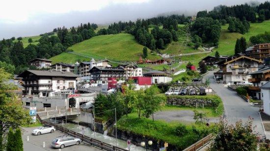 Hotel Reisinger: výhled z pokoje
