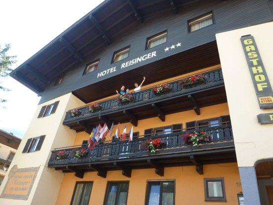 Hotel Reisinger: hotel z hlavní ulice