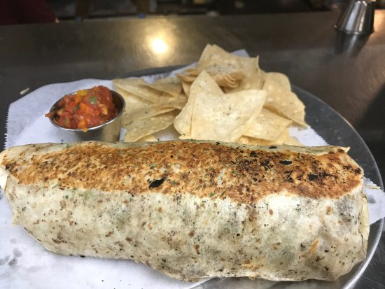 Elizabethtown, PA: Burritos as big as your head, almost