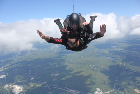 Killingly, CT: Me jumping with instructor Stephanie