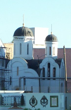 The Church in the Name of the Resurrection of Christ at the Tula Arms Factory
