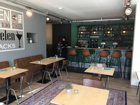 Nederland, TX: Lunchcafé Wijck is een verrijking voor de buurt.