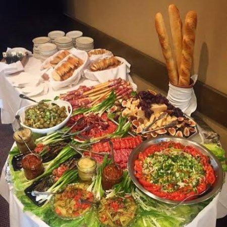 Kenmore, NY: Antipasto Table