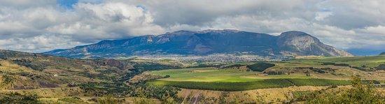 Blick auf Coyhaique vom Mirador Marchant
