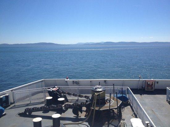 Tsawwassen, Canada: Leaving the ferry port