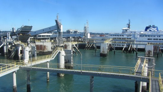 Tsawwassen, Canada: Ferry port