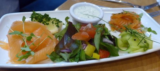 Campbeltown, UK: Lachs als Vorspeise