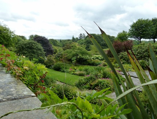 Morpeth, UK: Beautiful walled garden