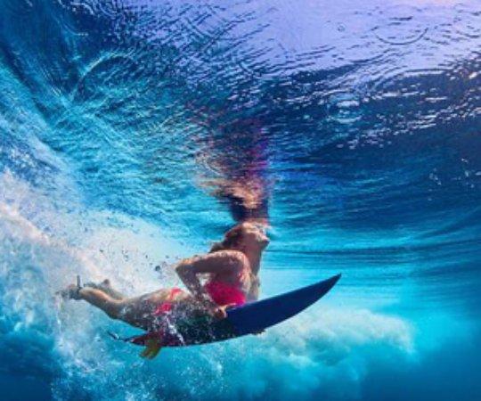 Surfing Bentota