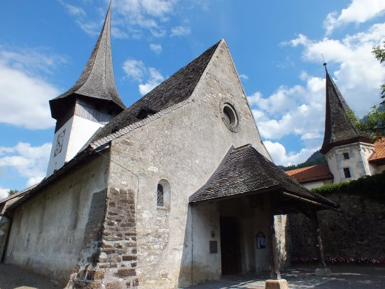 Rougemont, Switzerland: église site clunicien
