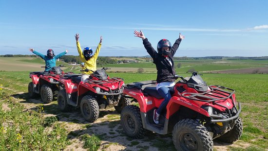 Forres, UK: Quad biking at The Loft