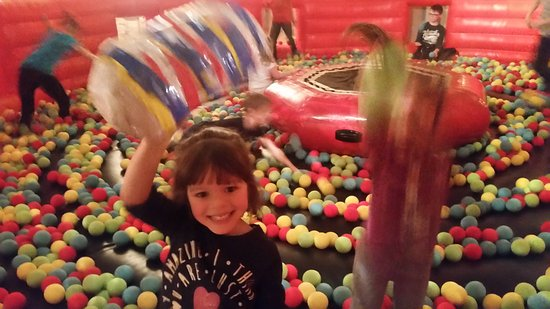 Forres, UK: Fun on our inflateible Arena