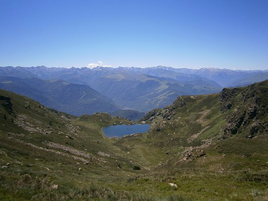Leran, Prancis: Mont d'Olmes wandeling