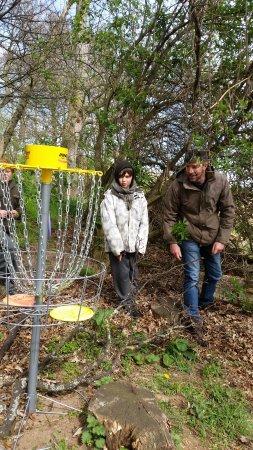 Forres, UK: Farm Frisbee at The Loft