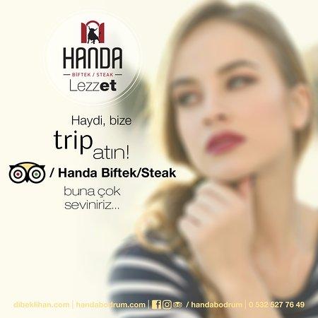 Handa Biftek/Steak: Seven trip atar! ;)