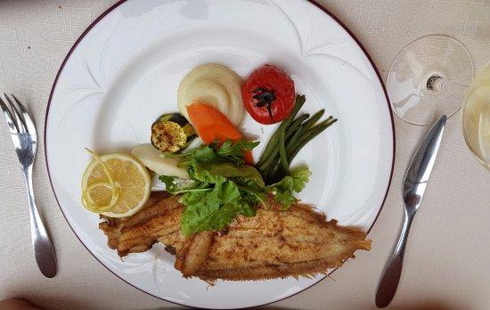 Le Turbot : poisson plat principal