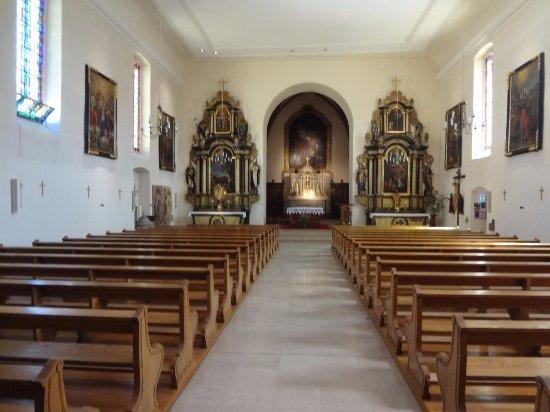 Eglise de Kientzheim (nef centrale)