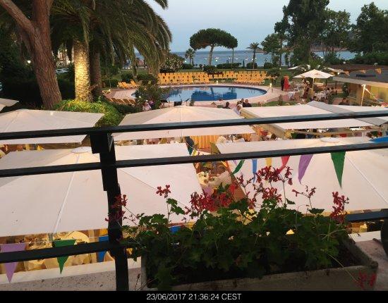 S'Agaro Hotel : Desde la cafetería