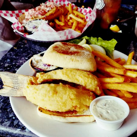 KaCey's Seafood and More : Best hogfish sandwhich..EVER!