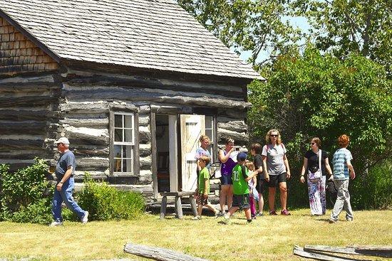 Alpena, MI: Historic McKay Cabin, circa 1898