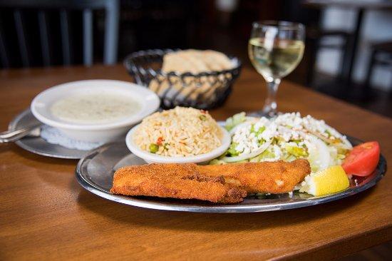 Utica, نيويورك: Fried Fish