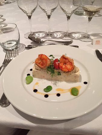 Barsac, France: First course