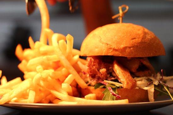 Orange, Australia: Crisp Pork Belly Burger. Need I say more??
