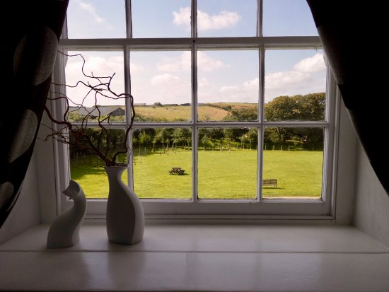 Rame, UK: View from living area