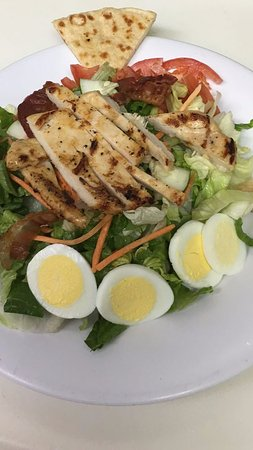 Lauderhill, FL: I ordered a chicken club salad with light Italian dressing and it was amazing!