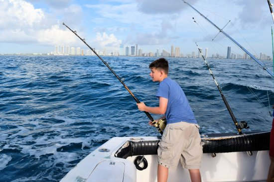 D on the rod picture of sea cross miami deep sea for Deep sea fishing trips