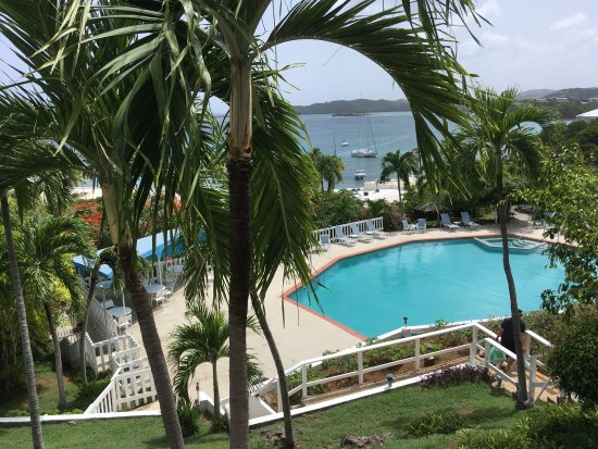 Benner, St. Thomas: Daytime View from our Balcony
