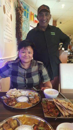 Nepalese Gurkha Restaurant : The manager was very generous.