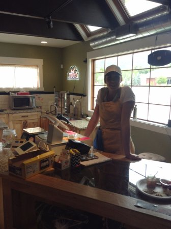 Paonia, Κολοράντο: Wonderful Smiling Staff, So Welcoming