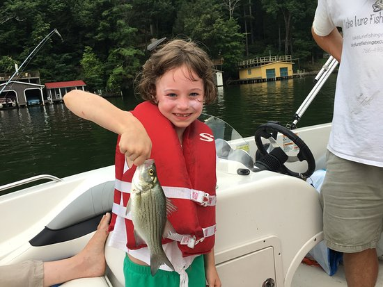 Lake lure fishing excursions all you need to know before for Lake lure fishing