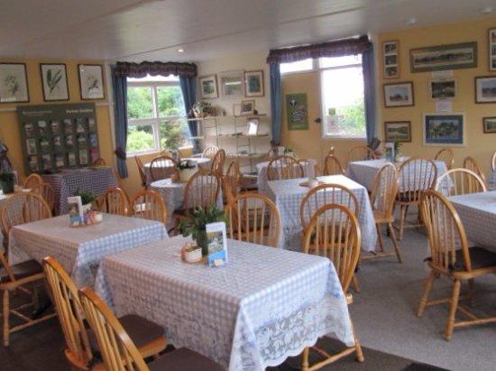Dunragit, UK: Inside the tea room