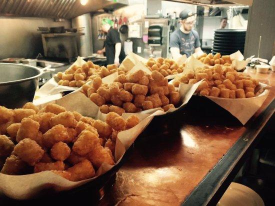 Camano Island, WA: Tater tot eating contest!