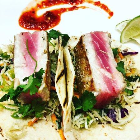 Νησί Camano, Ουάσιγκτον: Ahi Tuna Tacos