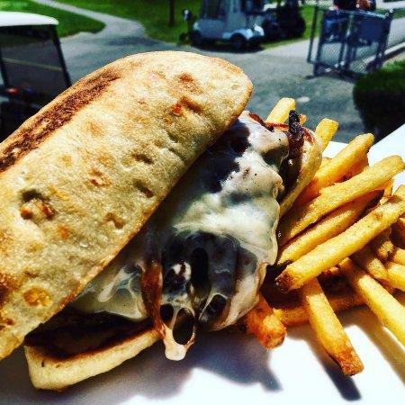 Camano Island, WA: Burger Melt